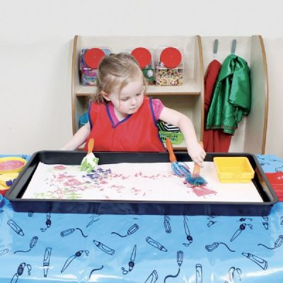 Jumbo Tray Rectangle,messy play tray,messy play plastic tray,sand and water tray,early years resources, educational resources, educational materials, children's learning resources, children's learning materials, teaching resources for children, teaching material for children